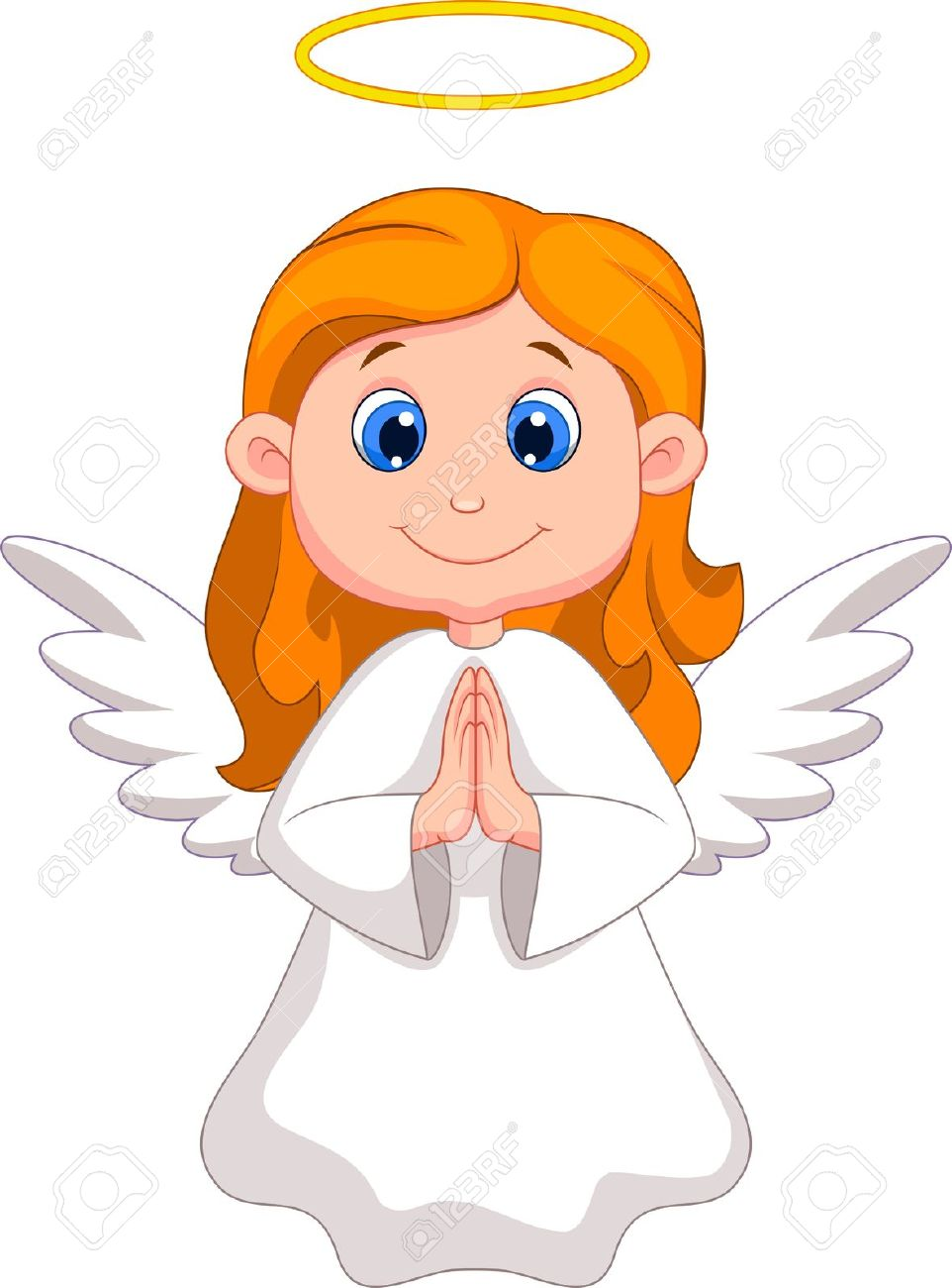 group of cute cartoon angels wallpapers