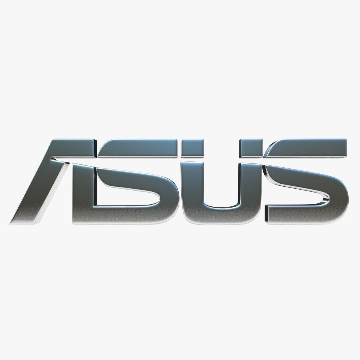 ... asus logo 3d model max obj 3ds fbx 4 ...