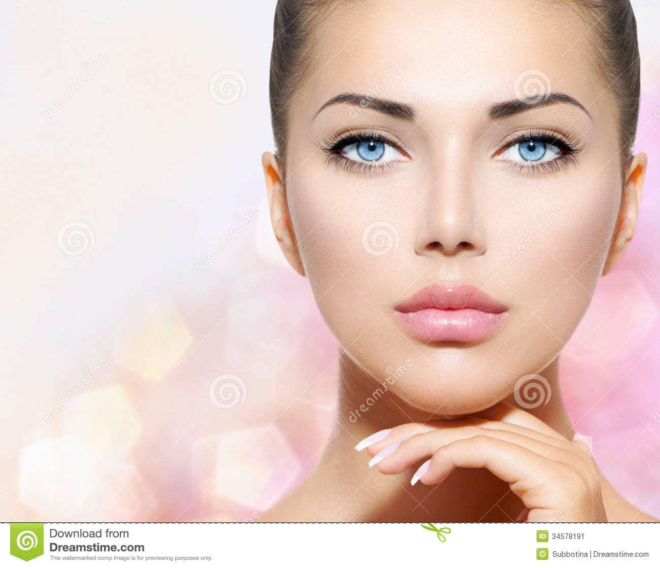 Beauty Portrait Stock Image