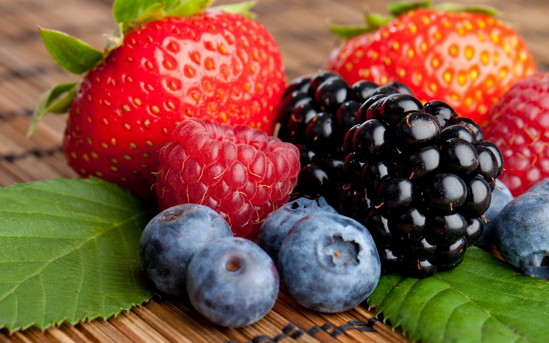 Fresh berries are a member favorite. When in season