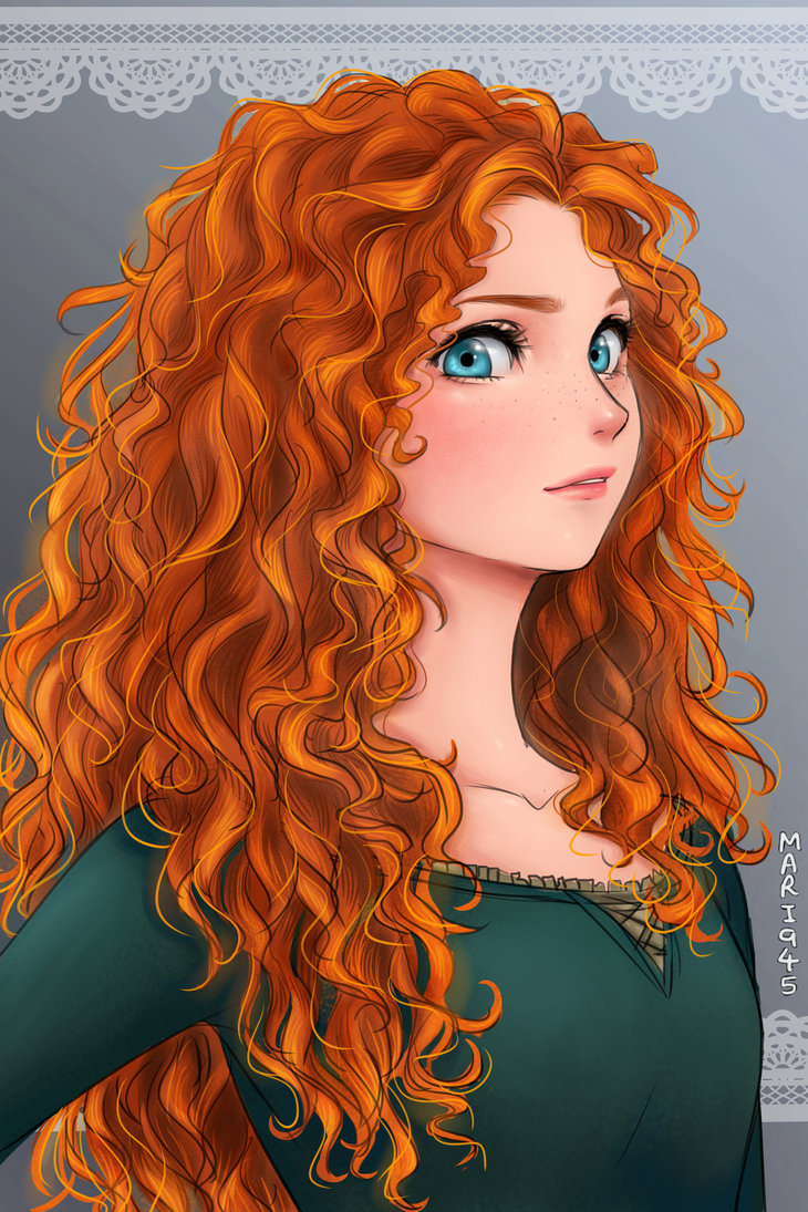 Merida from Brave by Mari945 ...