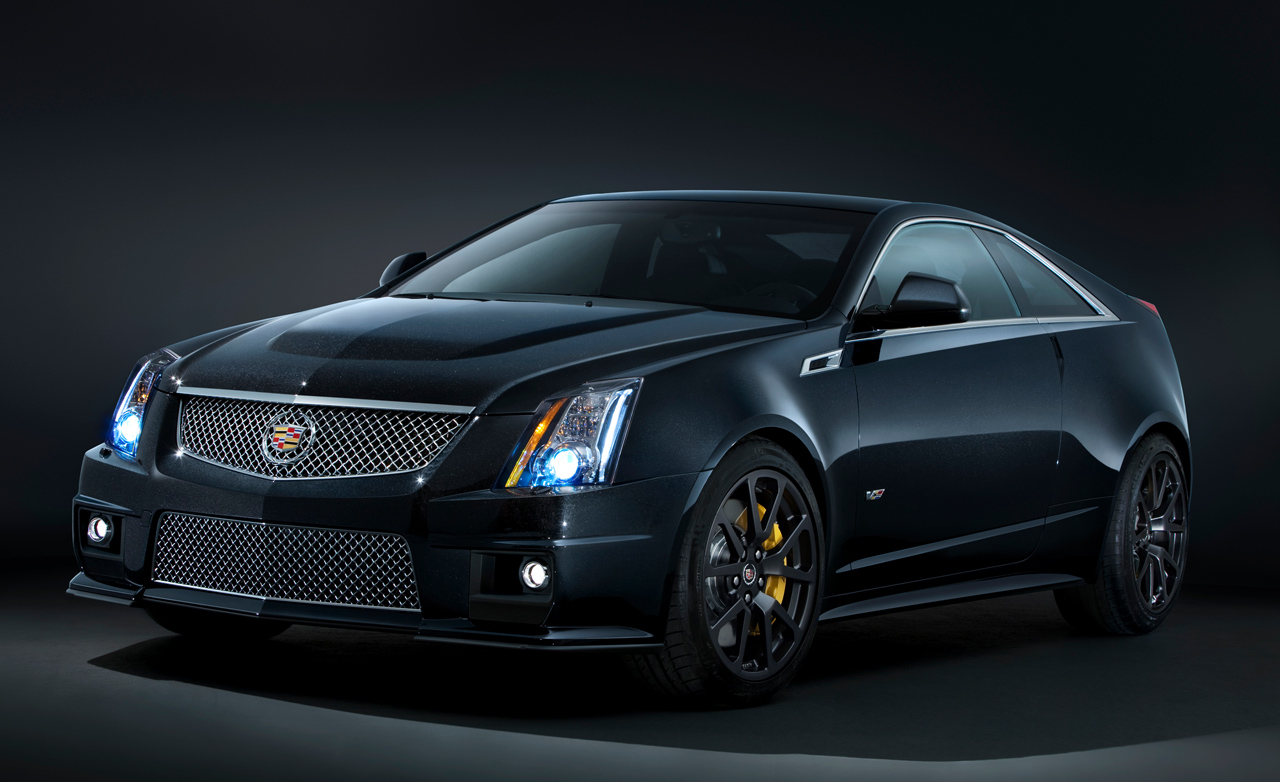 2017 Cadillac CTS V front three quarters in motion