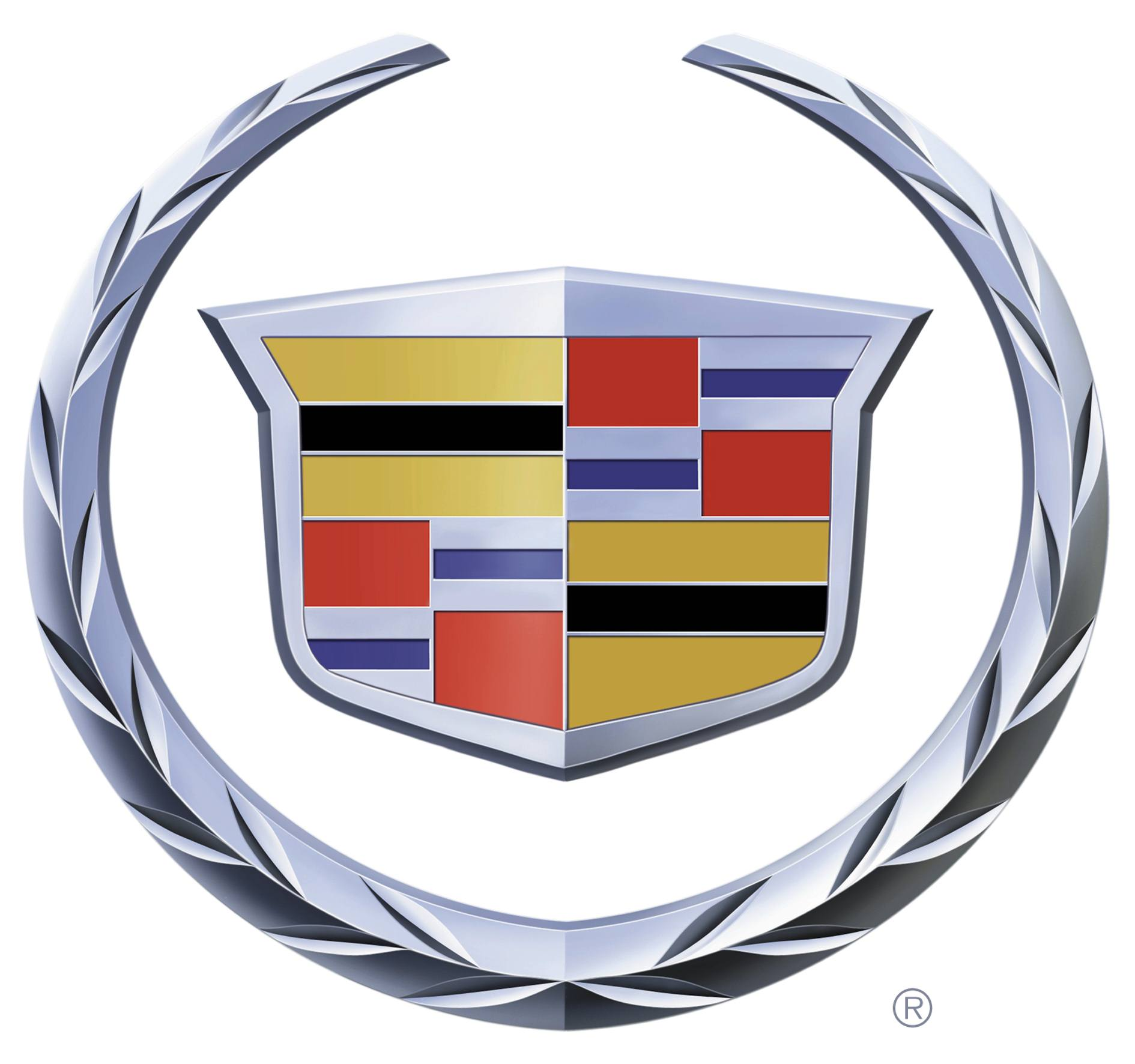 Where can I get High resolution Cadillac and V logos?