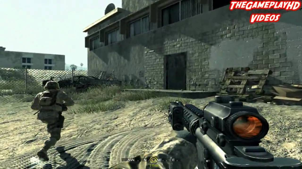 Call of Duty 4: Modern Warfare - | Missión 4 | u0026quot;Charlie no hace Surfu0026quot; [Part 1/2] - YouTube