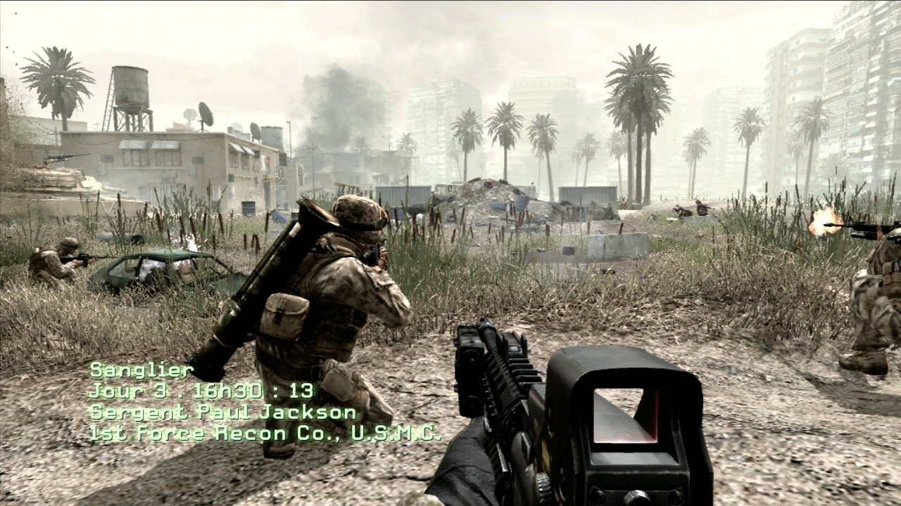 Call of Duty 4 Modern Warfare Game Setup