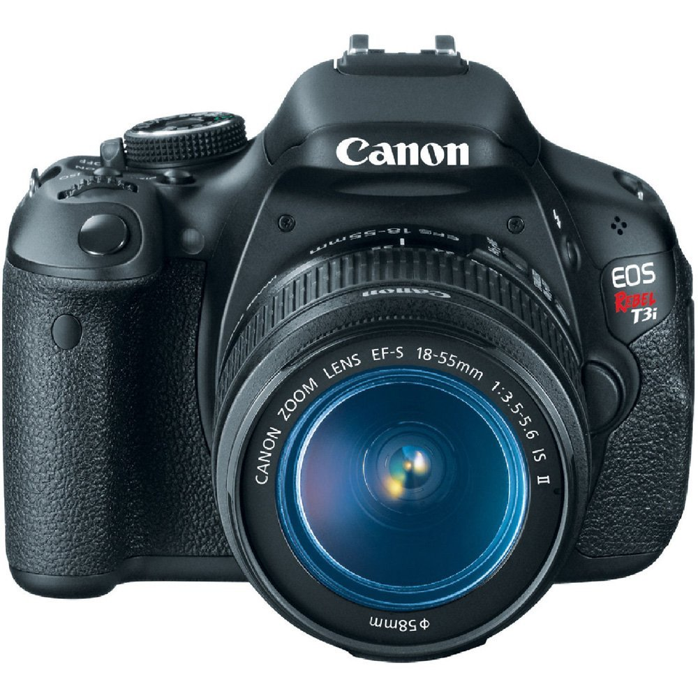 Amazon.com: Canon EOS Rebel T3i Digital SLR Camera with EF-S 18-55mm f/3.5-5.6 IS Lens (discontinued by manufacturer): CANON: Camera u0026amp; Photo