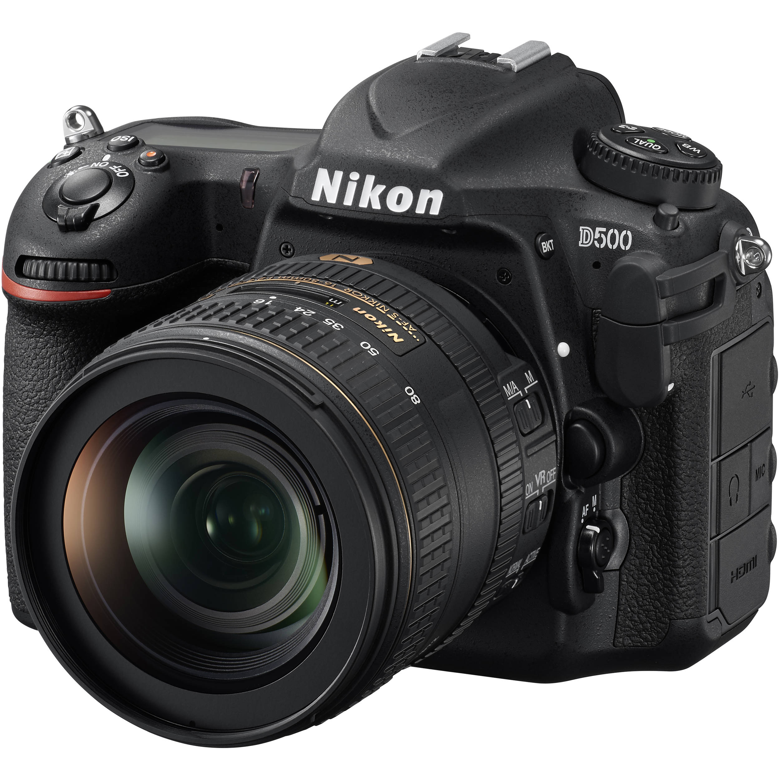 Nikon D500 DSLR Camera with 16-80mm Lens