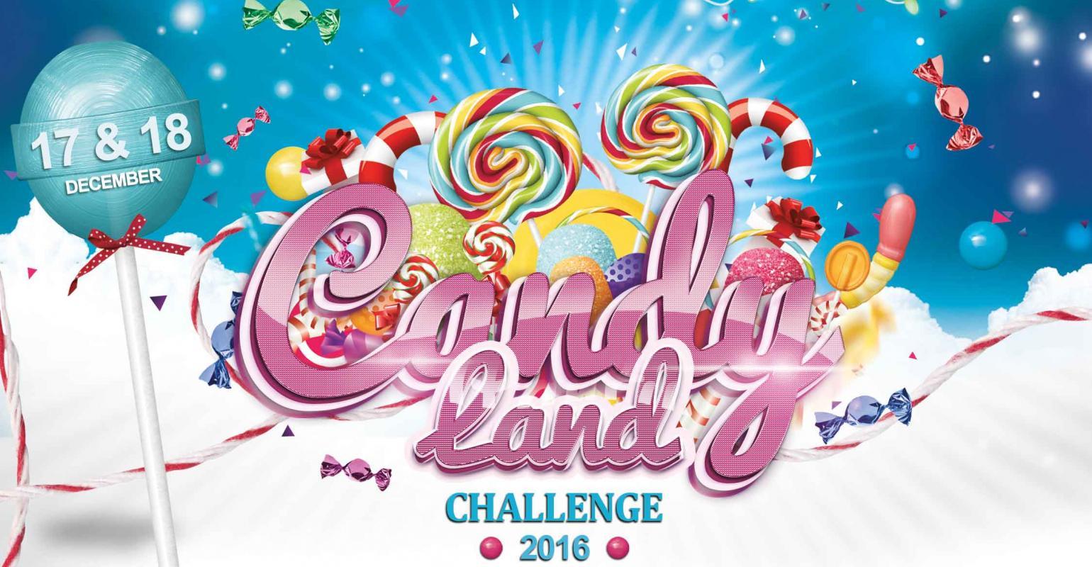 Candy Land™ Welcome Poster