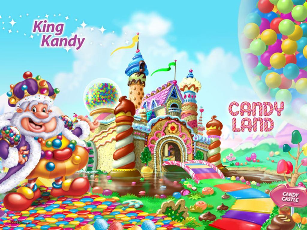 Candy land and Backdrops