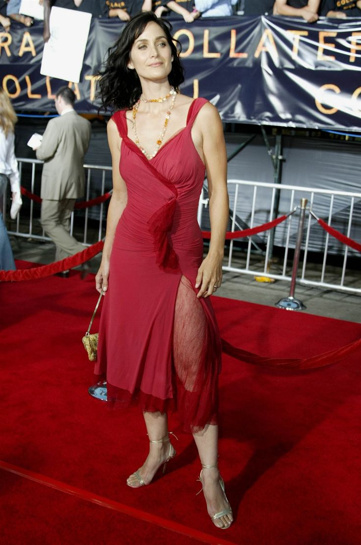 Carrie-Anne Moss CarrieAnne Moss No Makeup Without Makeup