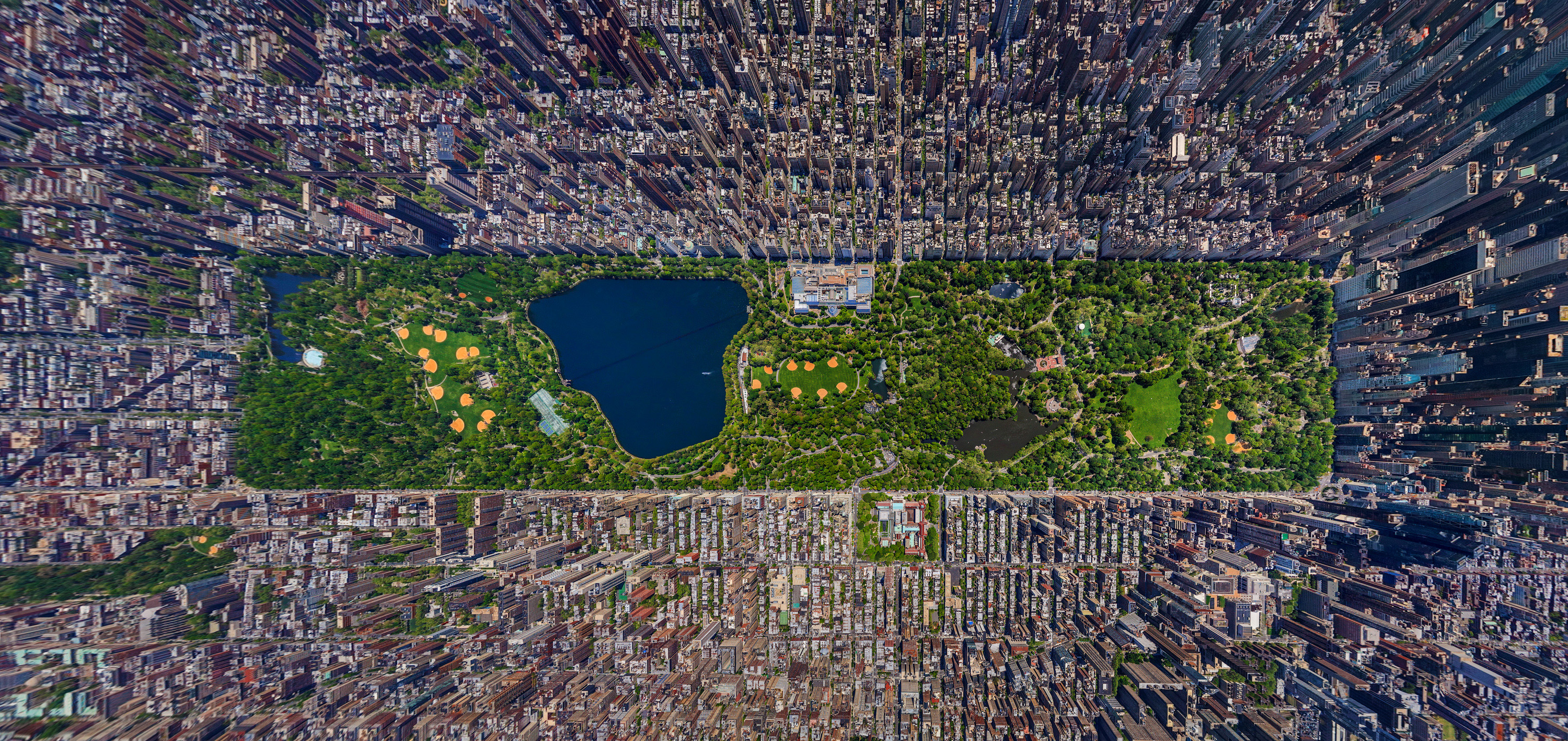 Aerial View of Central Park- Image Courtesy: Will Coldwell