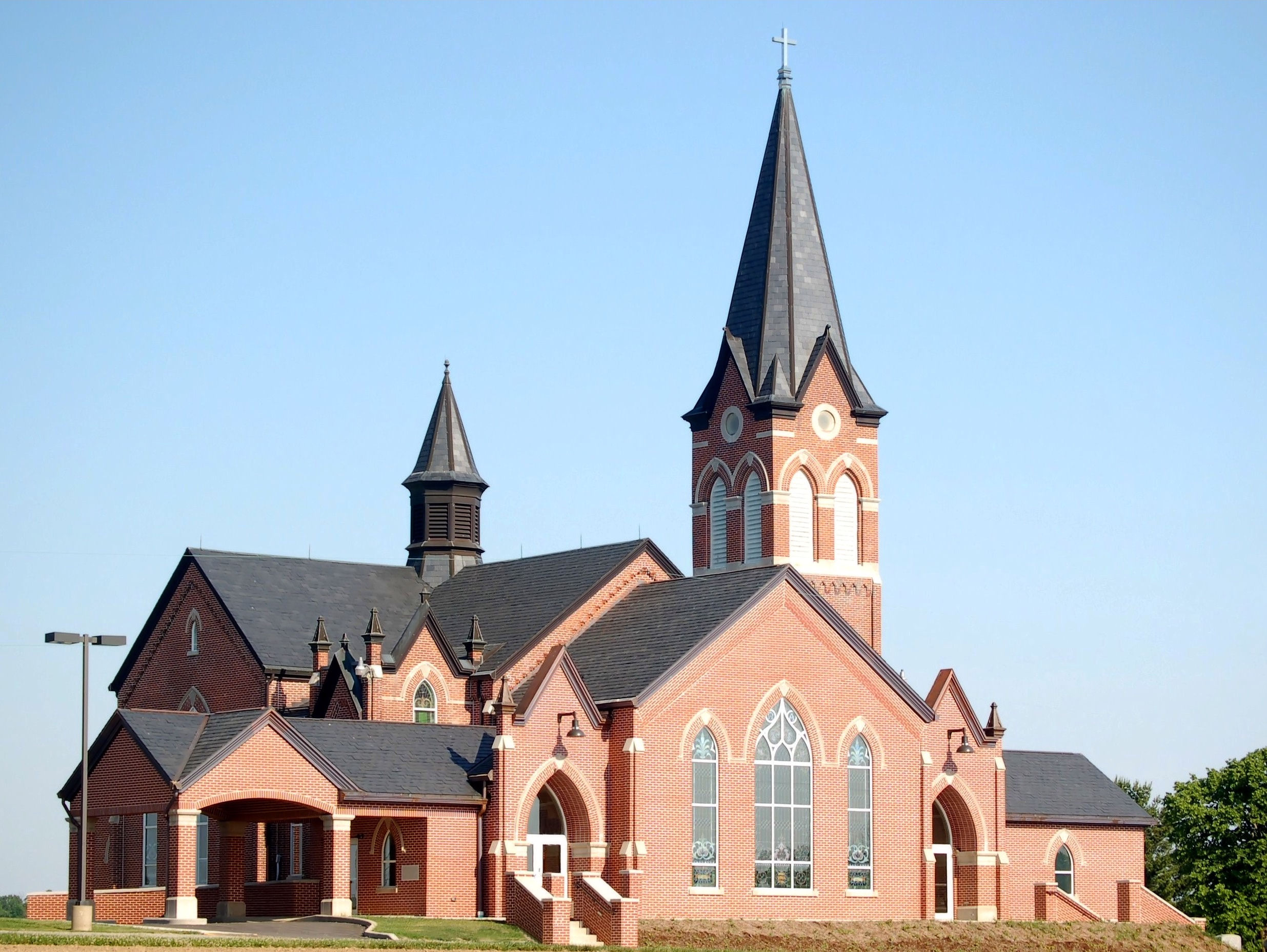 The Apostolic Lutheran Church of America has 57 member churches and close to 9