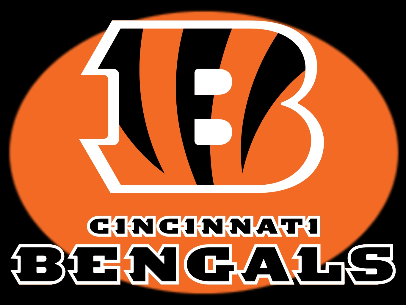 Image of the Cincinnati Bengals logo.