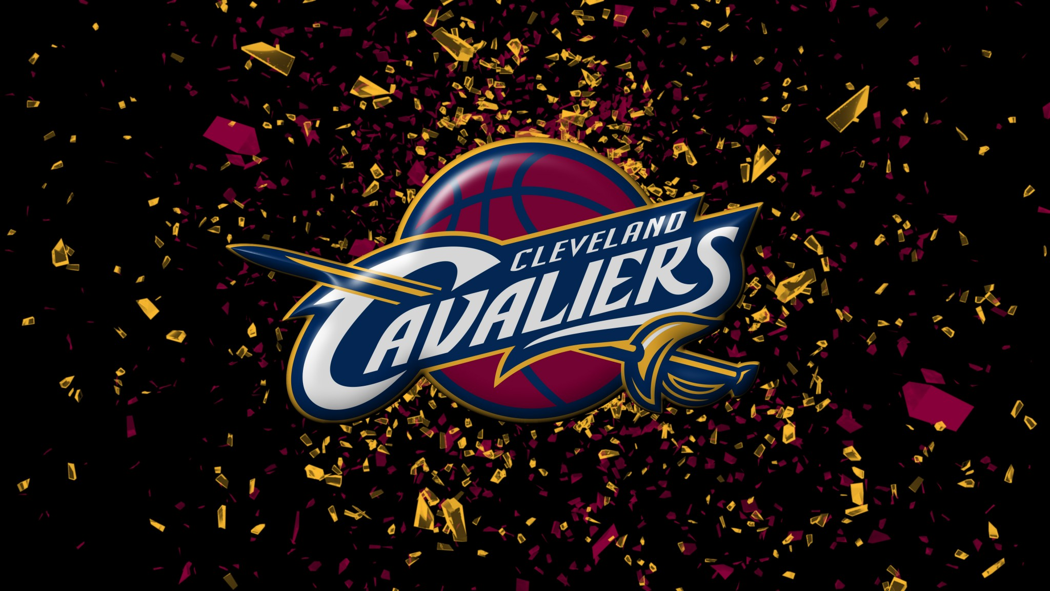 Kyrie irving and Cavaliers logo