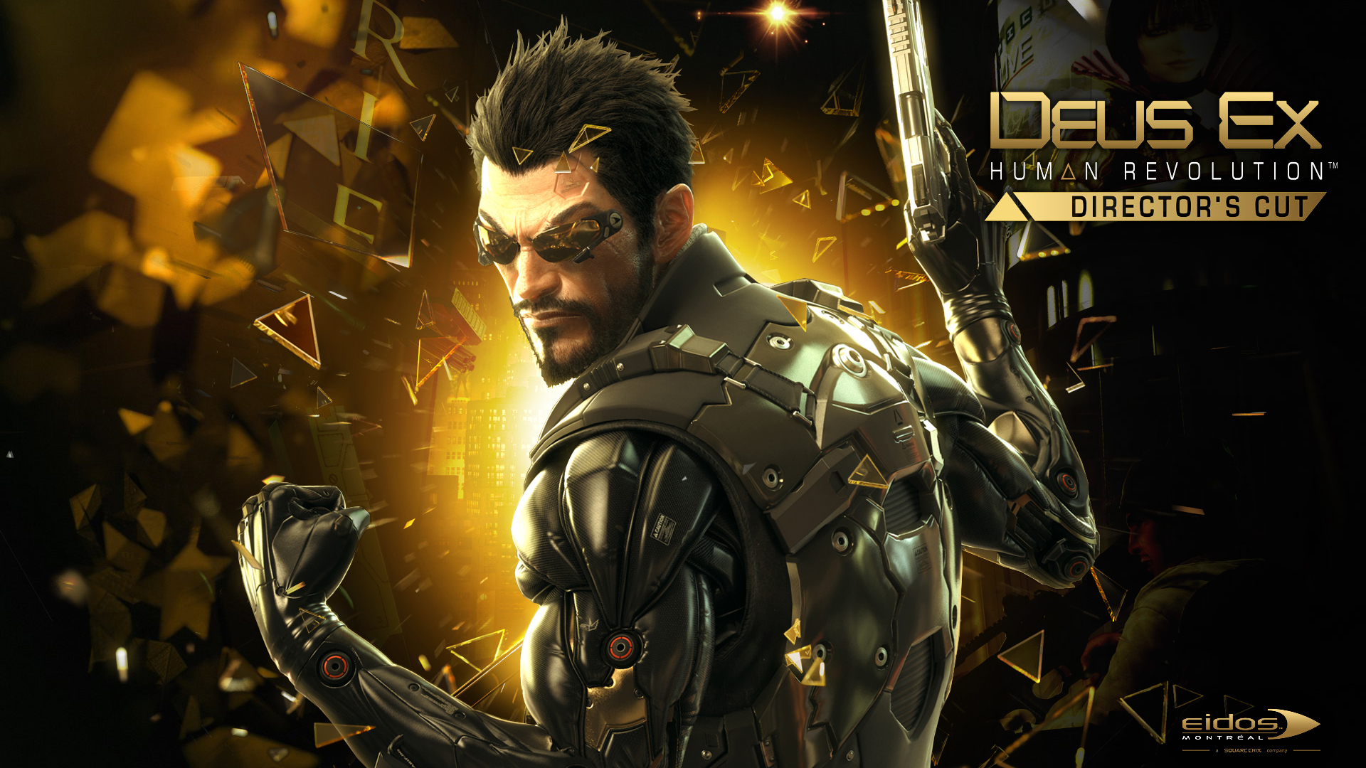 Deus Ex: Human Revolution: best screensaver wallpapers and images .