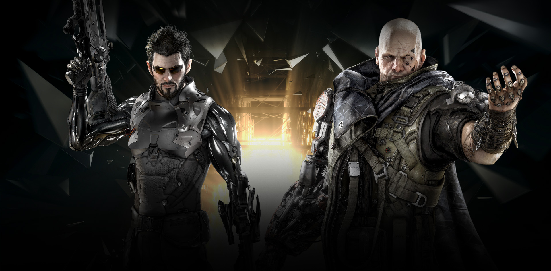 Play the mechanically augmented and highly experienced covert operative Adam Jensen