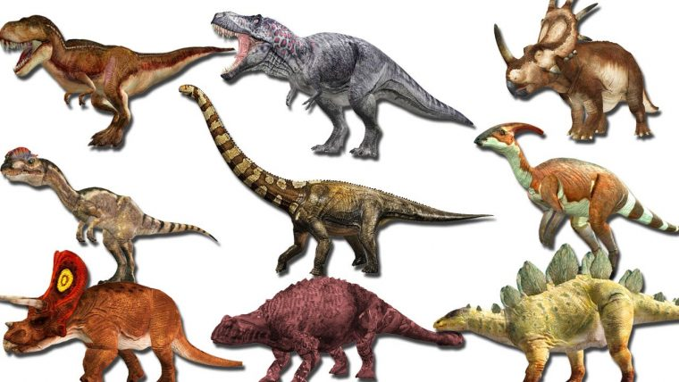 Dinosaurs pictures and names