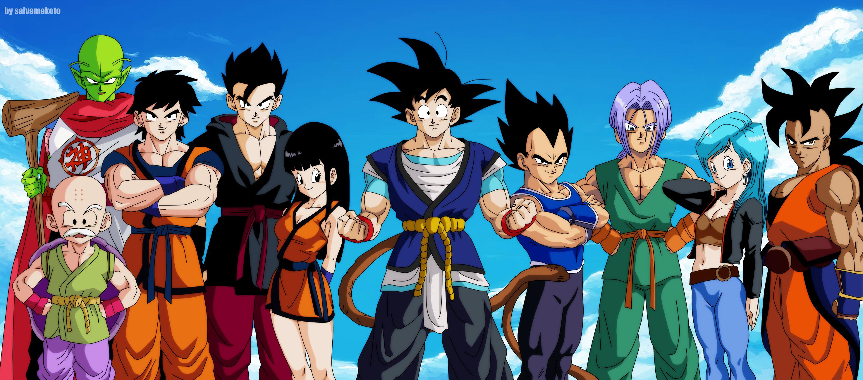 HD Wallpaper | Background ID:659621. 2950x1300 Anime Dragon Ball Super
