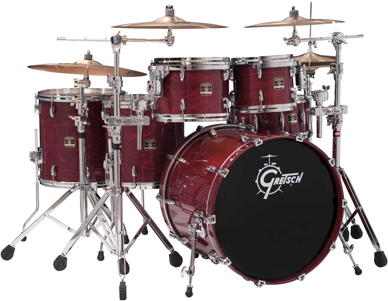 ... Pearl Session Studio Classic 4-Piece Drum Set Shell Pack (22u0026quot; Bass
