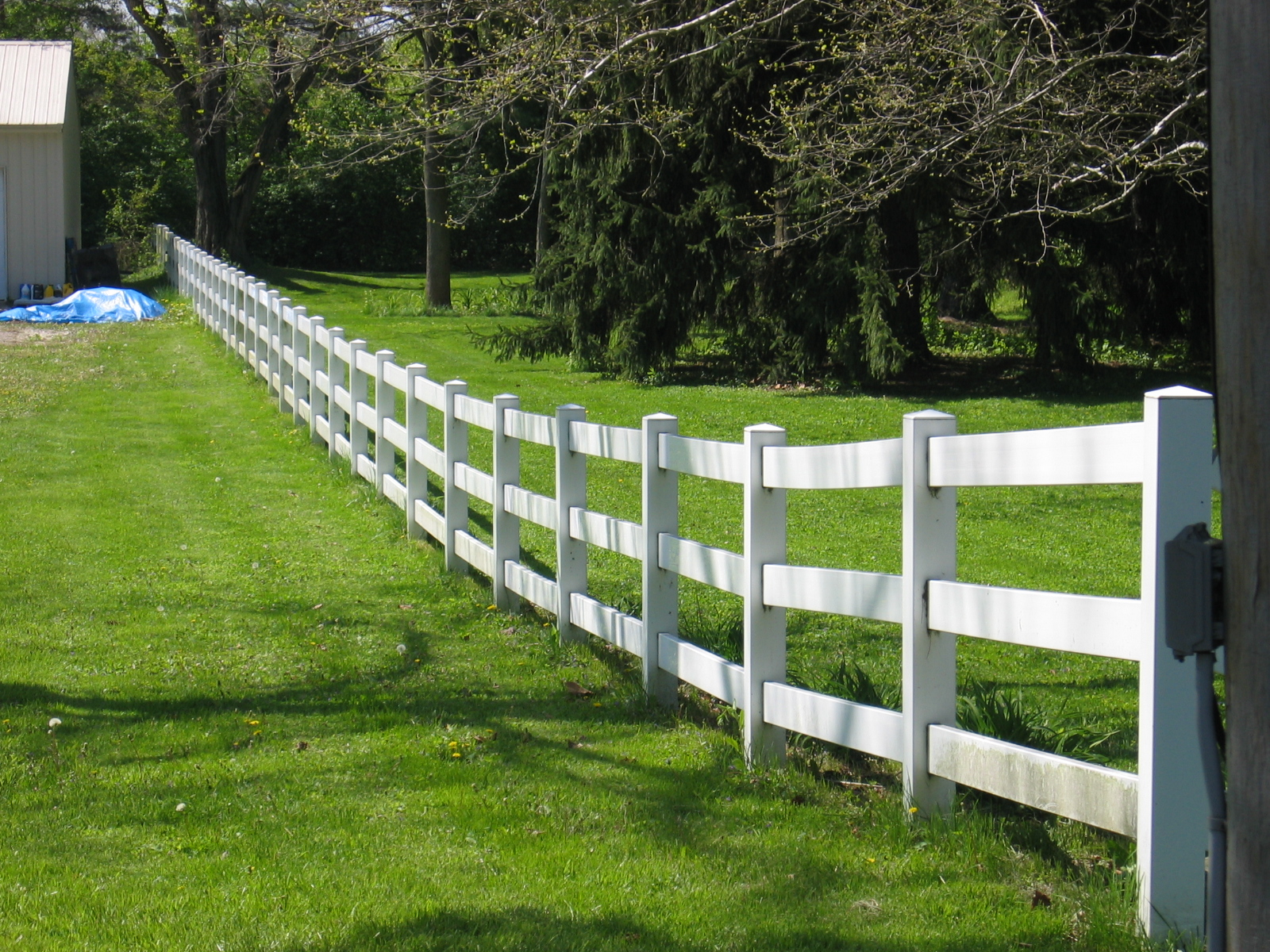 Wood picket fence and Wood fences