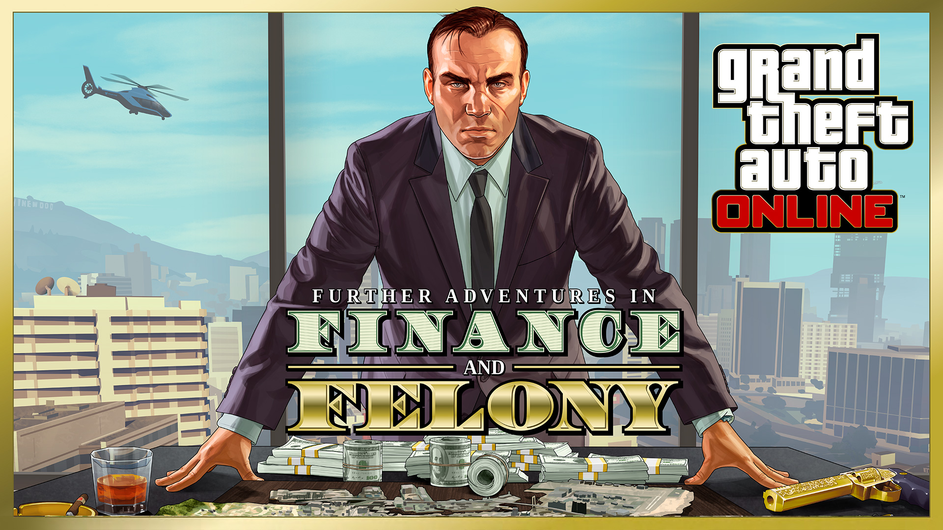 GTA Online: Further Adventures in Finance and Felony Now Available - Rockstar Games