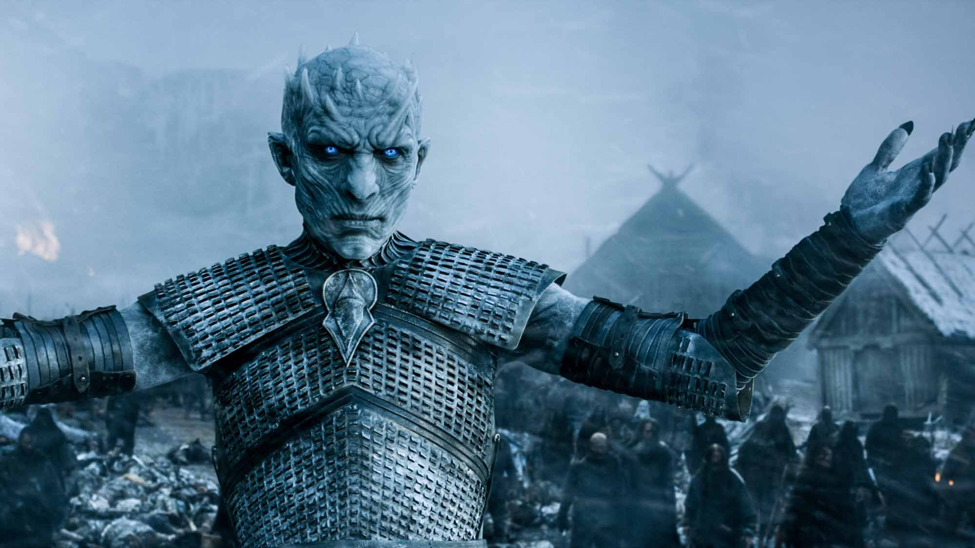 Night King white walker hardhome Game of Thrones HBO