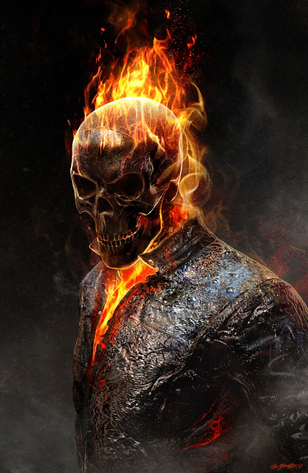 Ghost Rider - not a huge fan of the movie(s) but this image