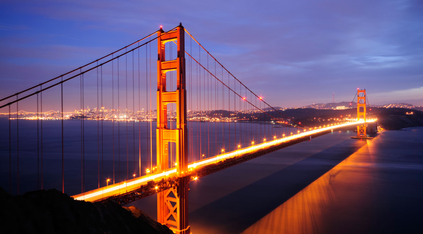 ... The Golden Gate Bridge ...