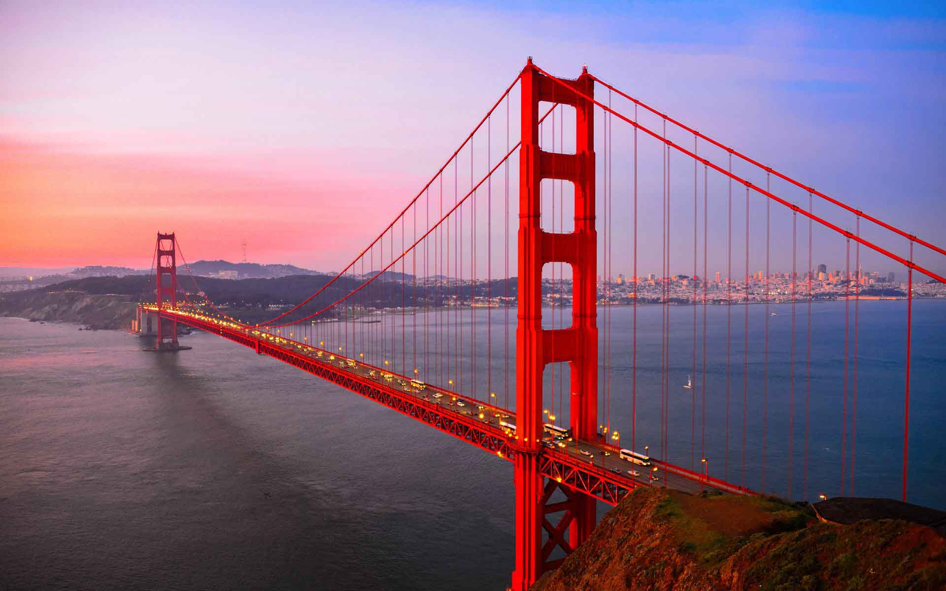 Desktop Golden Gate Bridge HD Wallpaper