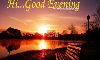 Beautiful 3D Good Evening Wishes HD Wallpapers Download