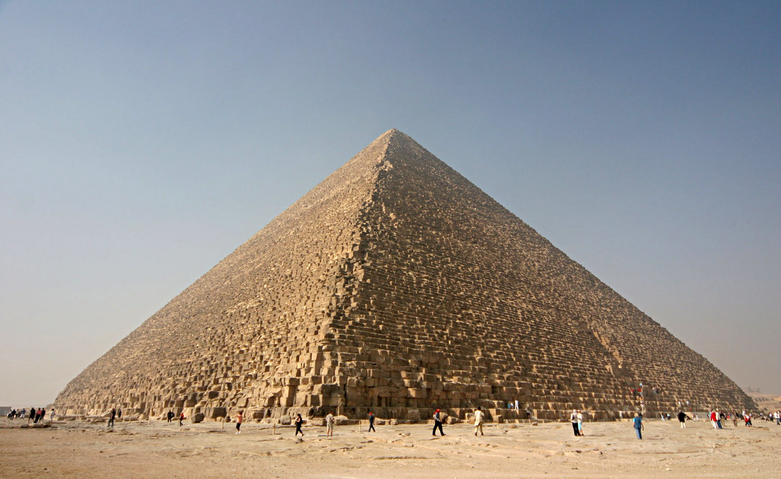 The Pyramid of Kheops