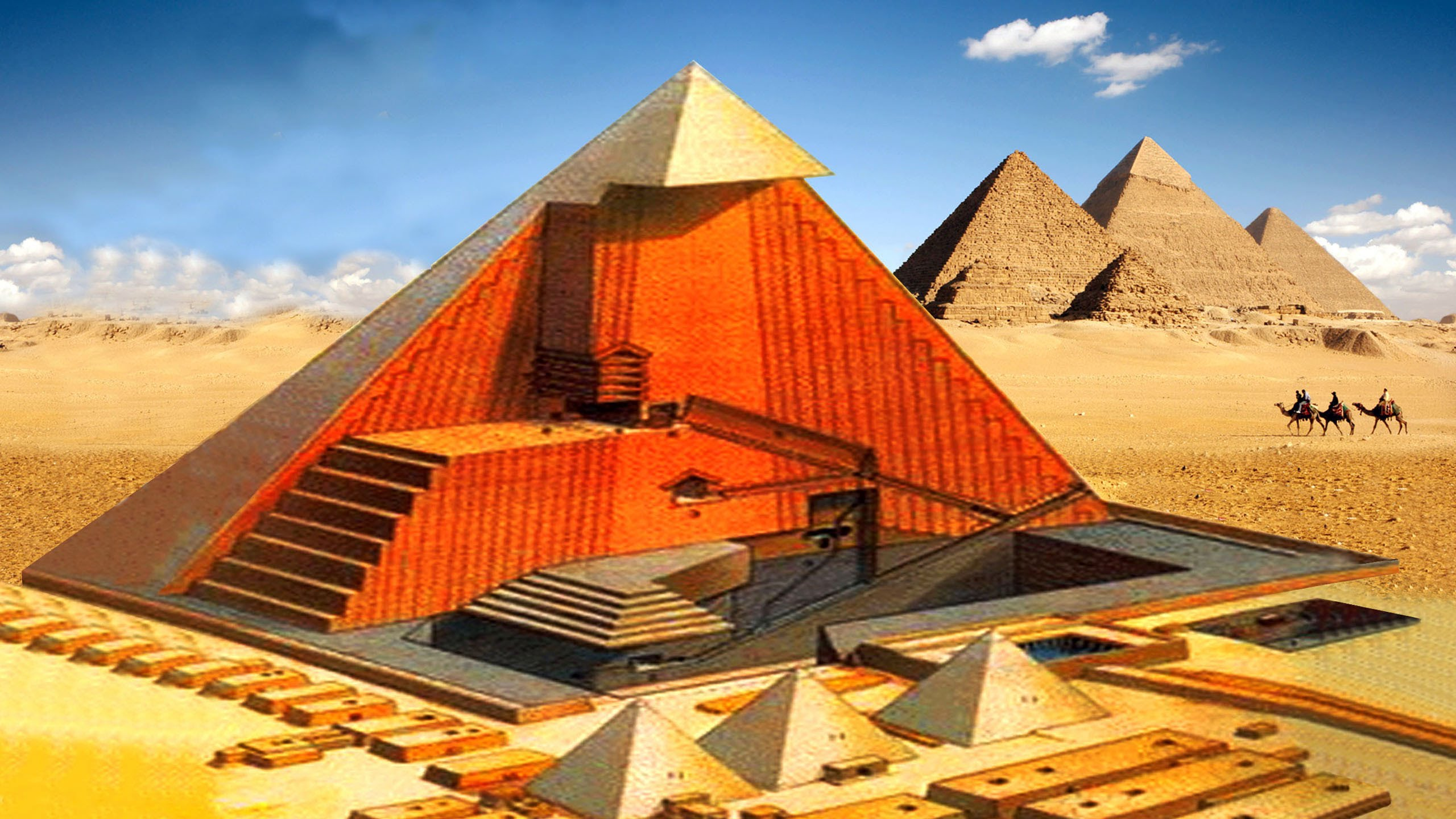 The Great Pyramid of Giza - 25 Great Facts and Mysteries Revealed - YouTube