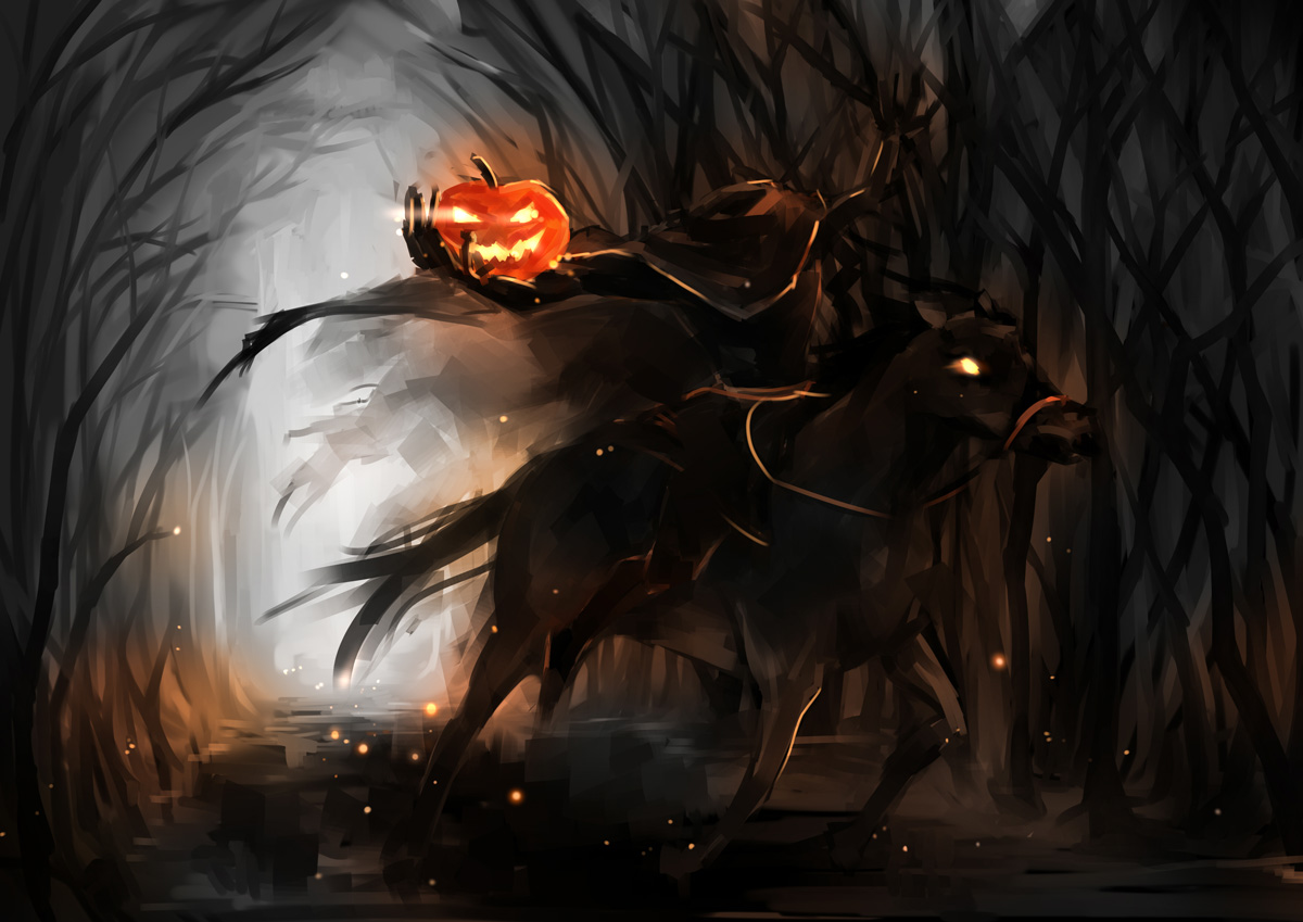 The Headless Horseman by Bing Crosby (1949) u2013 Vintage Halloween - YouTube