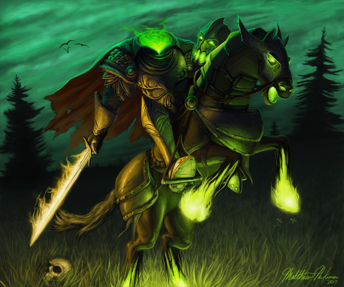 Happy Halloween Headless Horseman by madmagnus