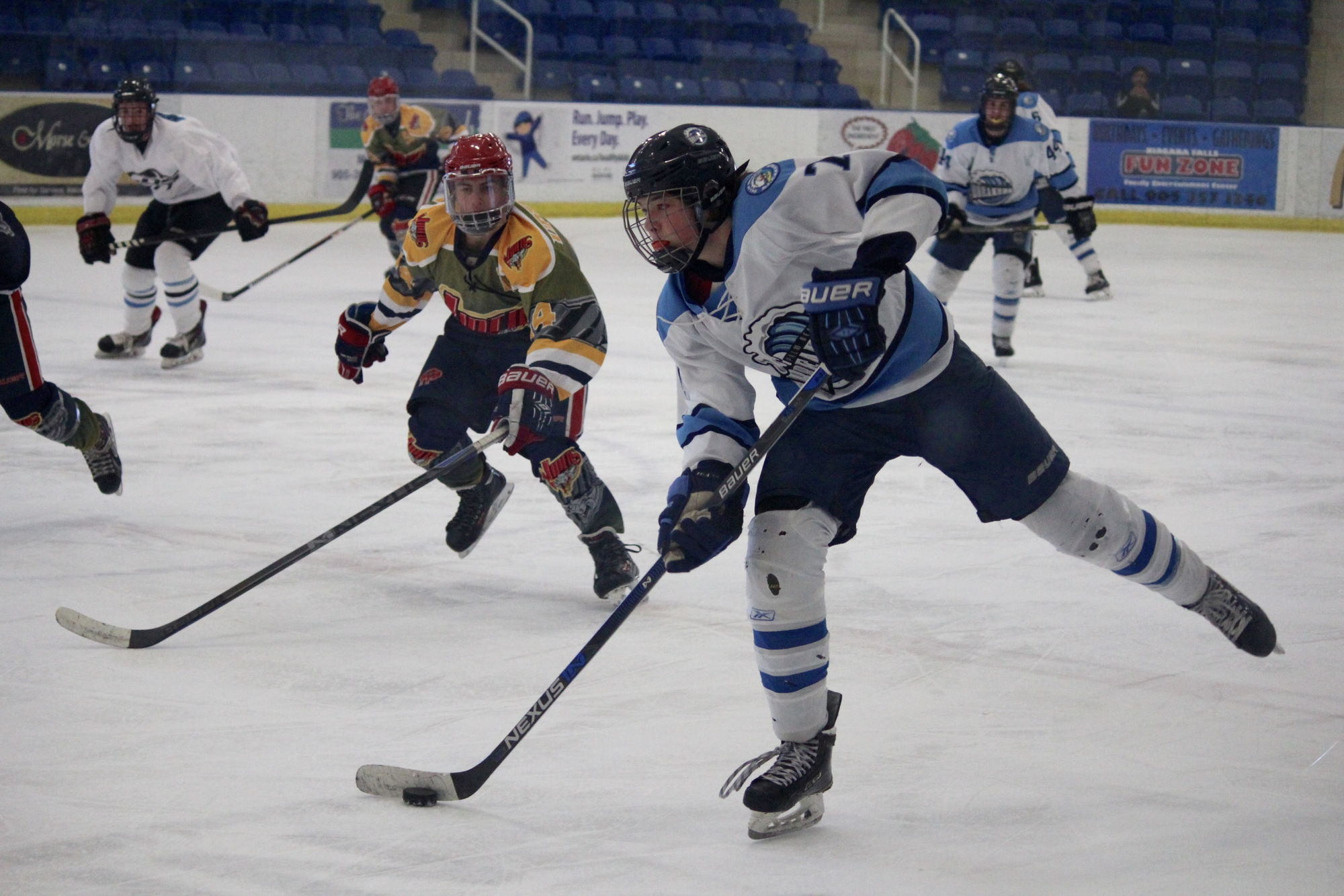 Hockey programs for all ages and levels.