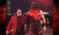 Kane w/ Paul Bearer Returns! 2/7/00
