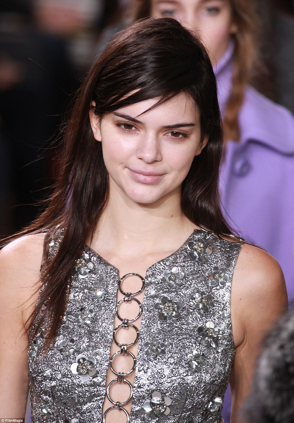 Kendall Jenner proved she is one of the most daring catwalk stars on Wednesday