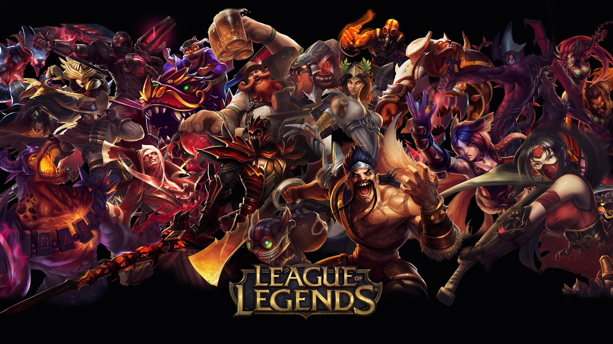 NibblesMeKibbles 0 0 More Like This League of Legends Red Wallpaper ...