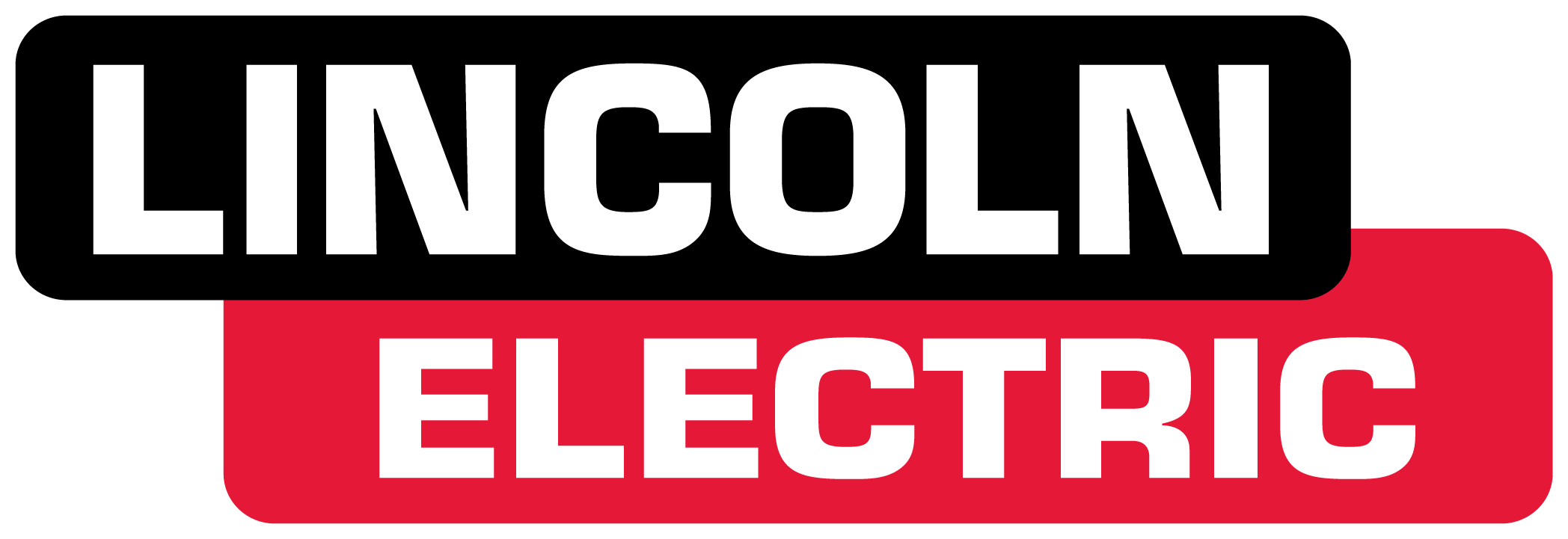 Lincoln Electric color logo for use on dark backgrounds.