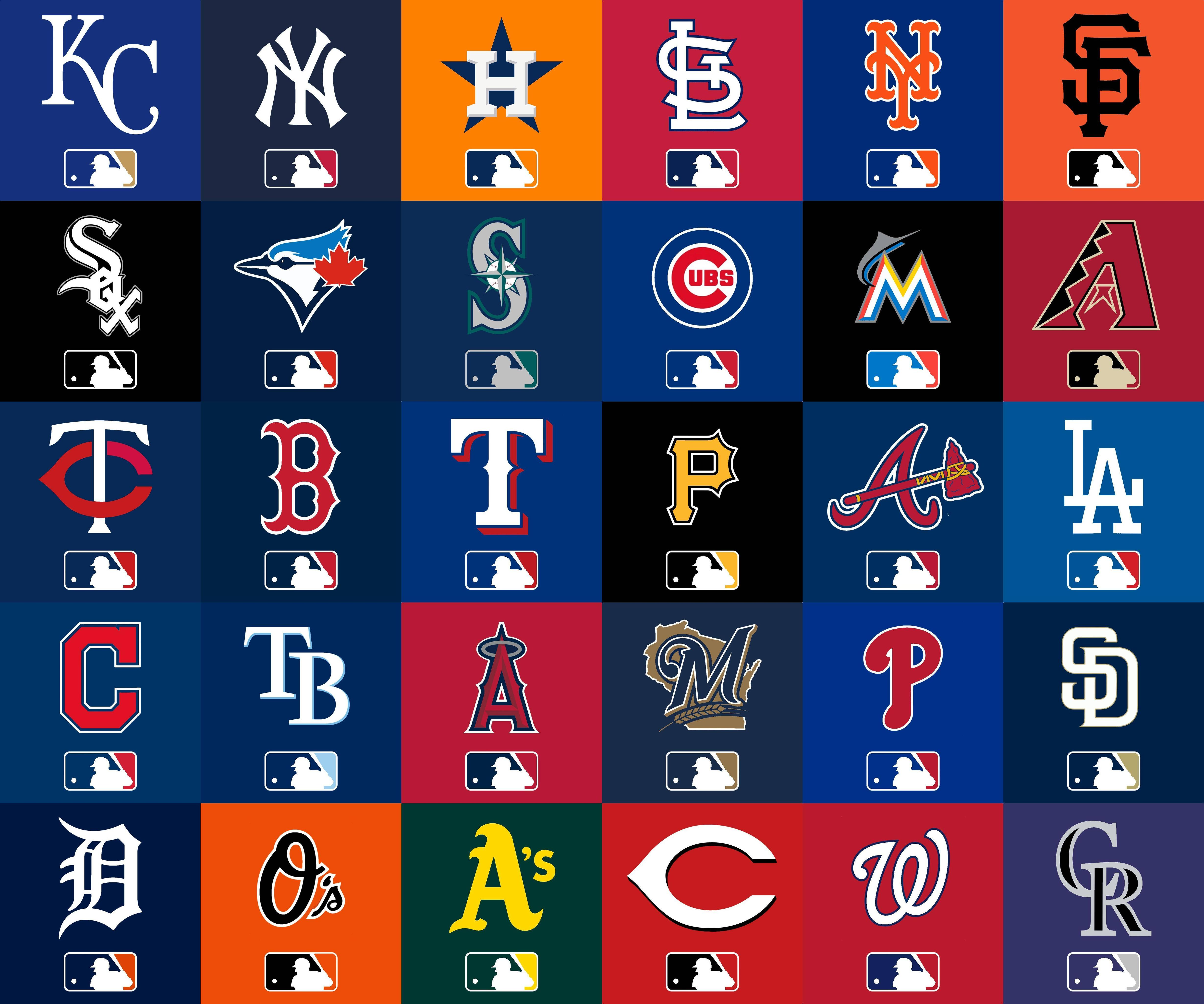 Simple MLB At Bat Icons For All 30 Teams Download In Comments