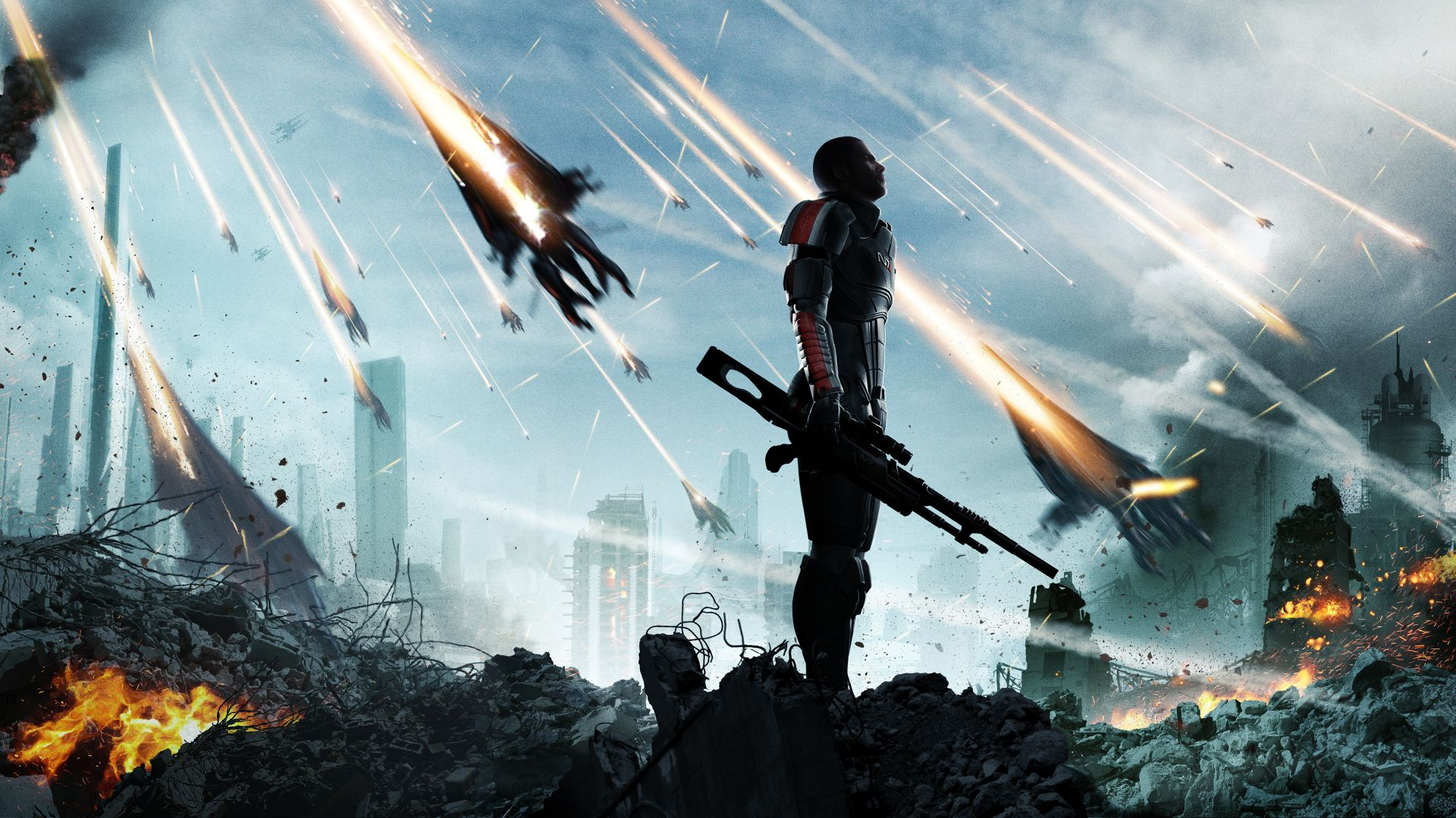 The Team - Mass Effect - The artwork The Team is digitally created concept art for