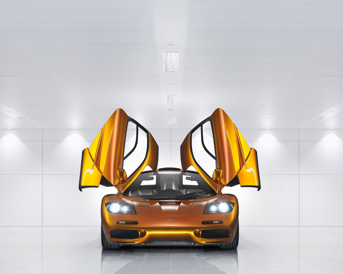 ... the legendary McLaren F1 is a technological masterpiece. The fastest production car of its time. The finest sports car of its generation.