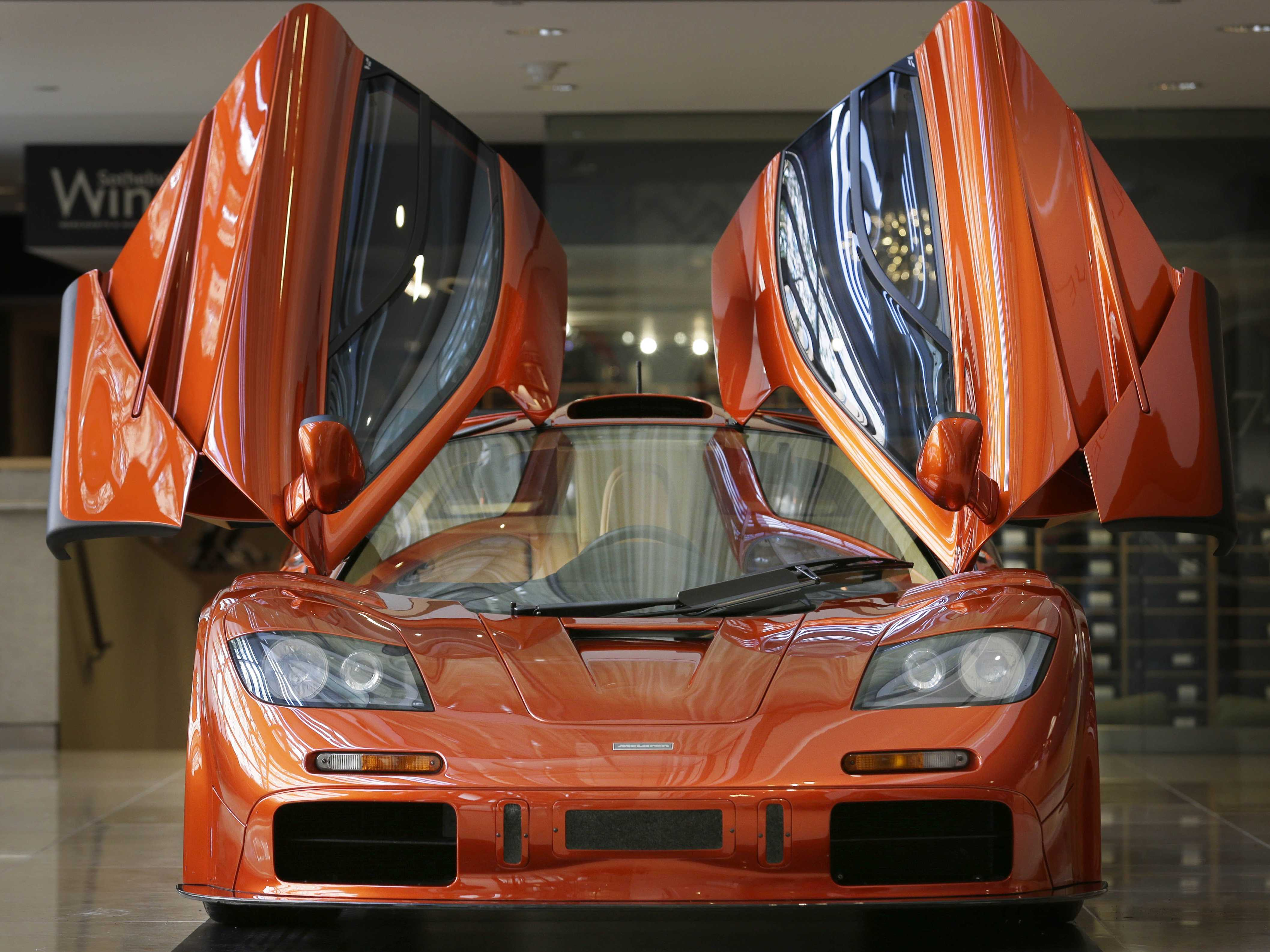 The new owner of a $13.75 million McLaren F1 is reportedly driving it around town - Business Insider