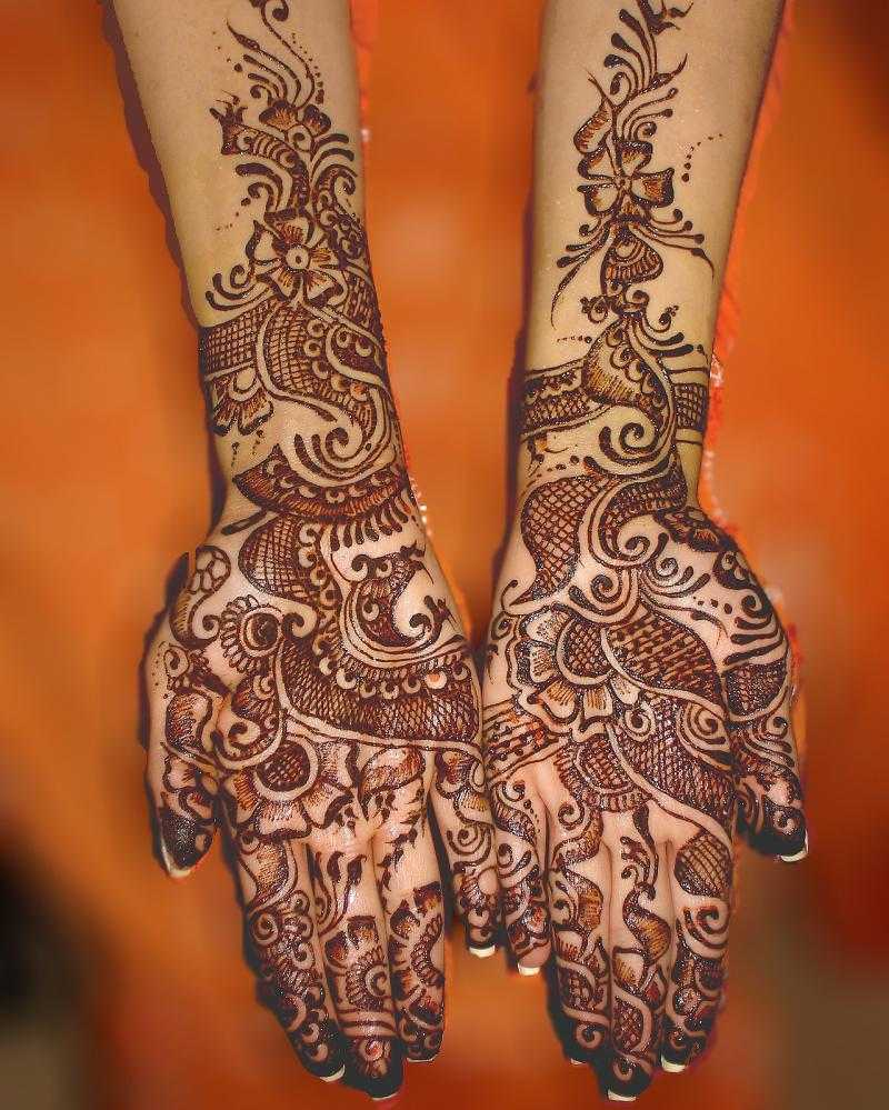 Simple mehndi designs 8 Source. This ...