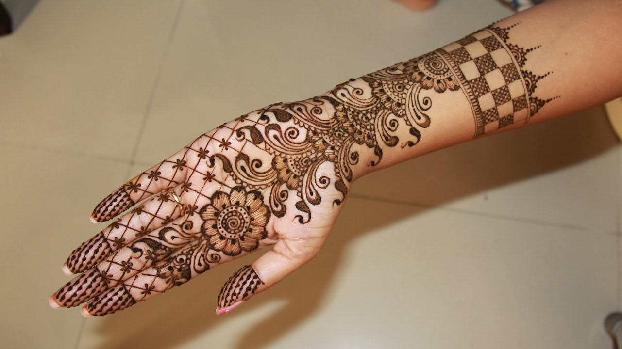 Wedding Mehndi Designs For Hand