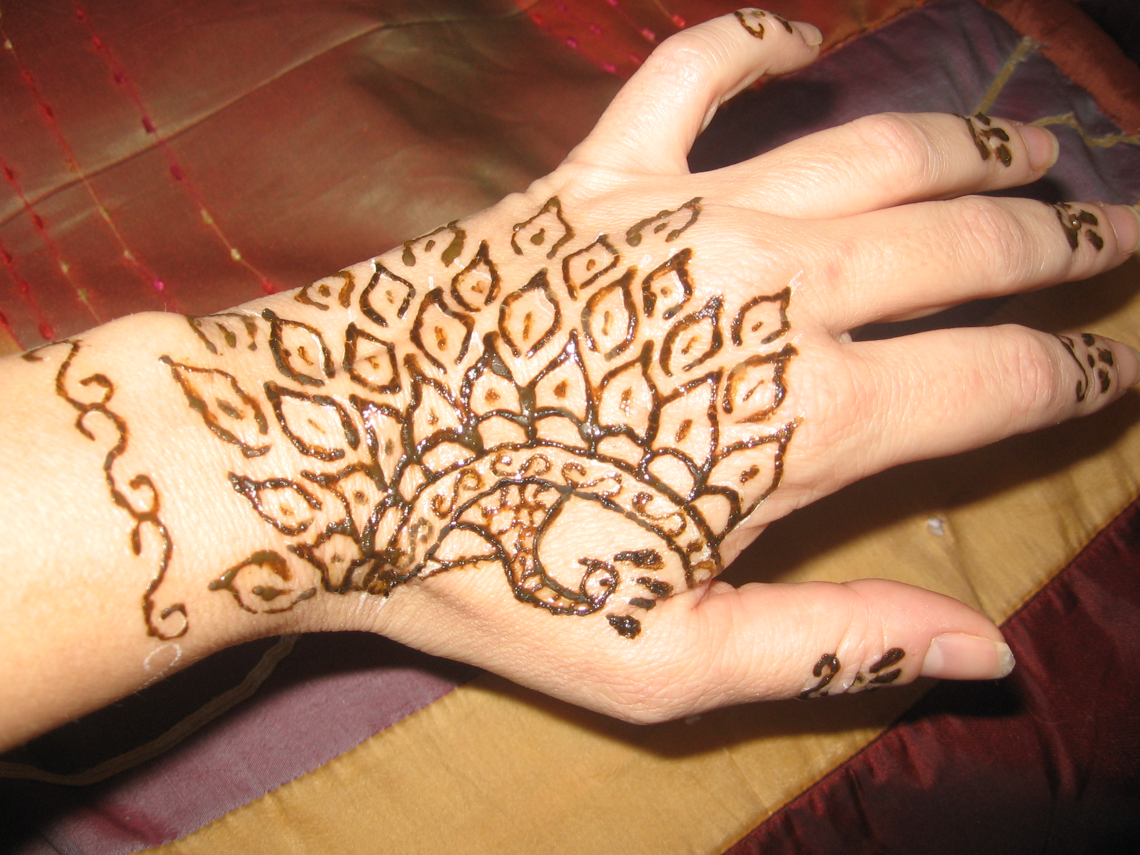 Henna hand designs and Mehndi designs