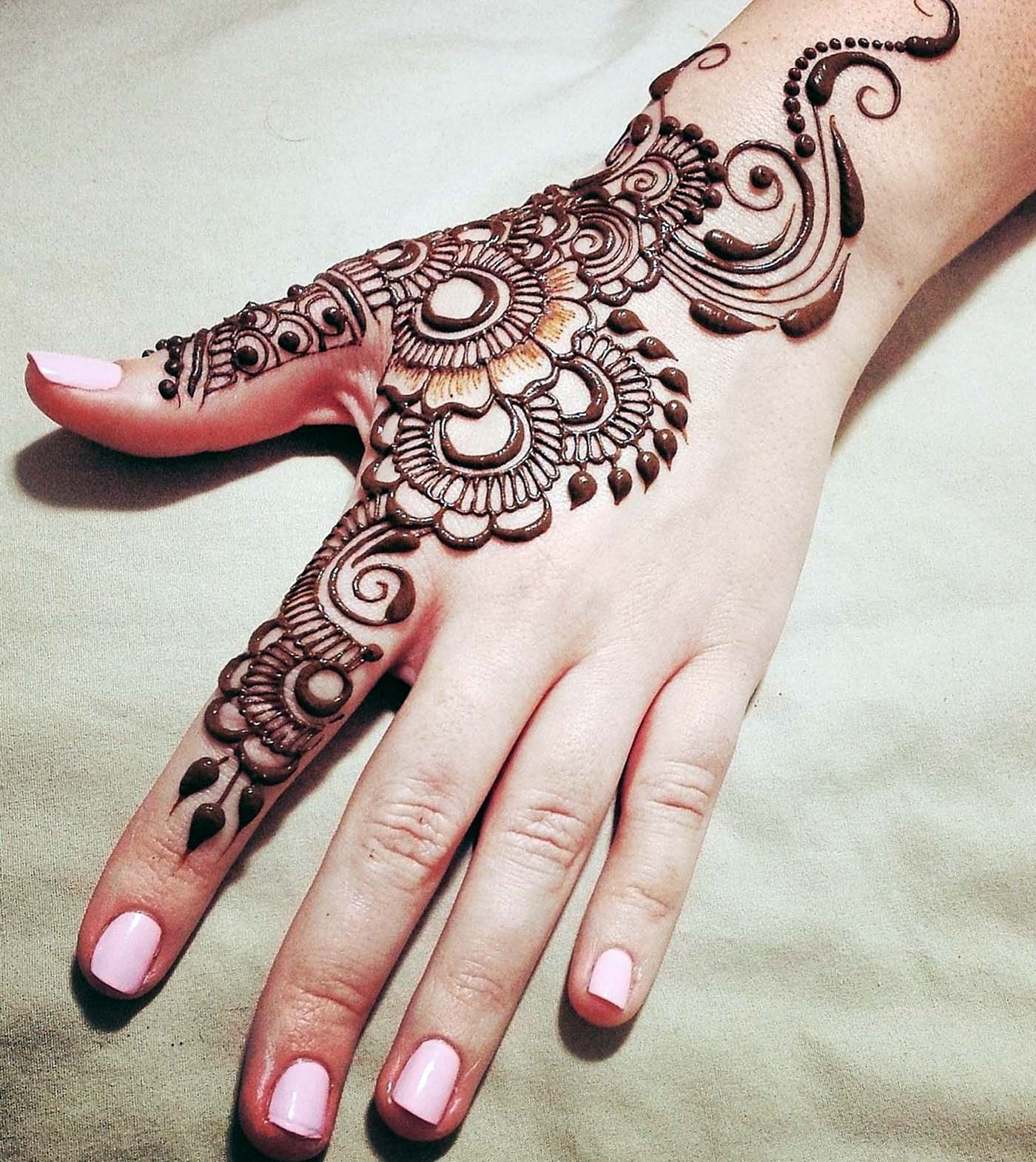 Mehandi patterns
