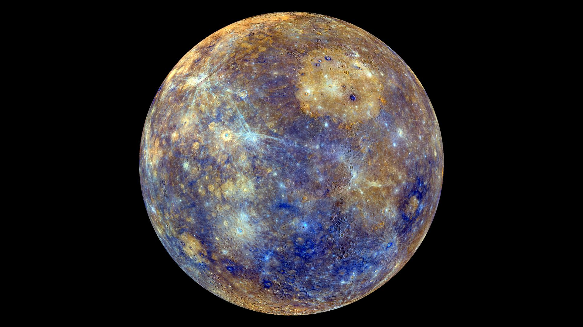 See Explanation. Clicking on the picture will download the highest resolution version available. Colors of Mercury