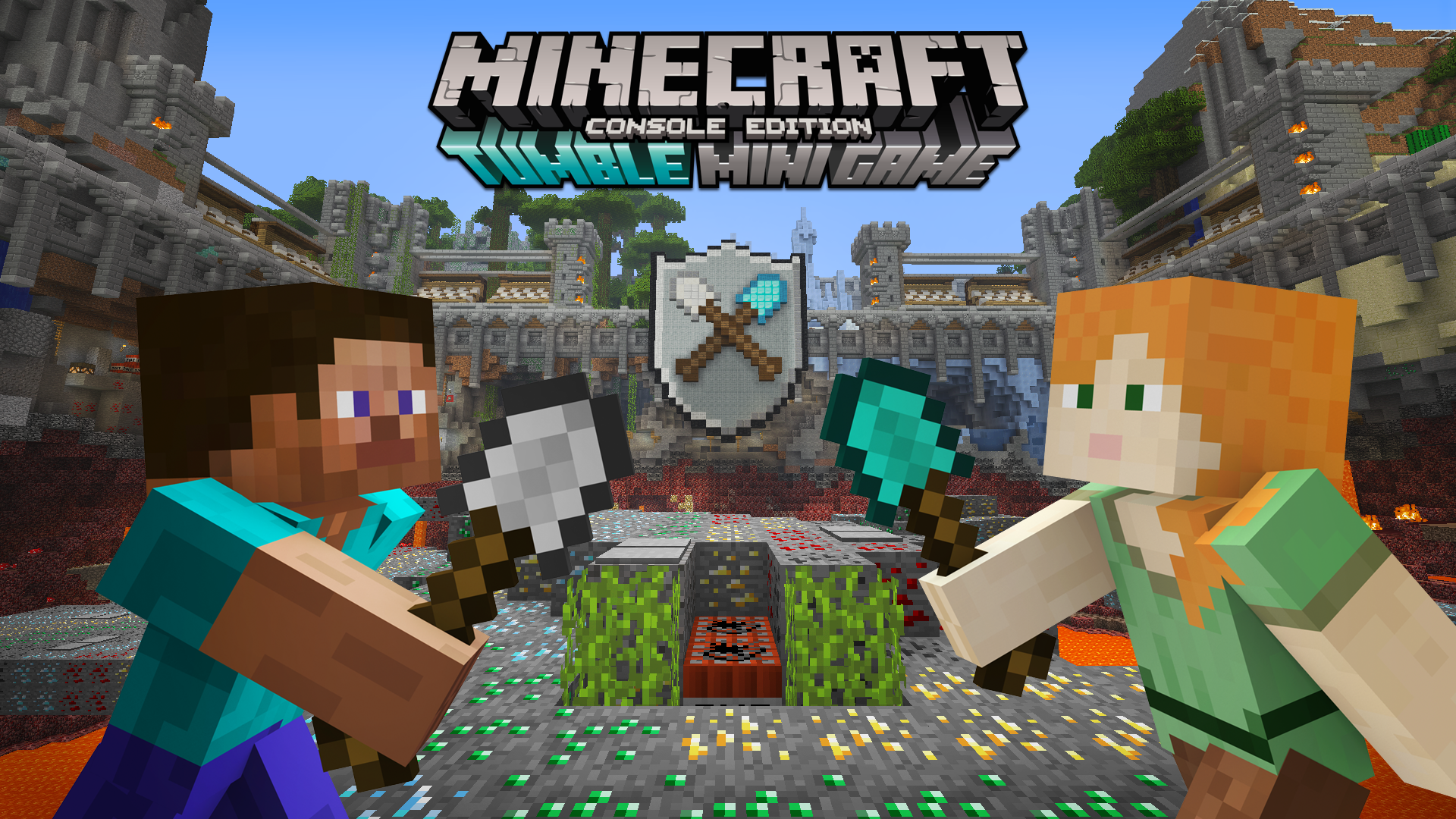 Minecraft gets a deadly minigame on consoles for free