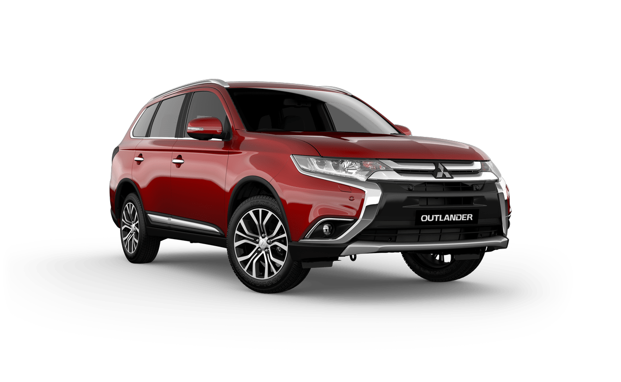 NEW MITSUBISHI OUTLANDER BUILT FOR THE WHOLE TEAM